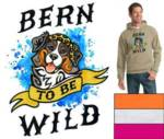 08.  Bern To Be Wild Pullover Hooded Sweatshirt_image